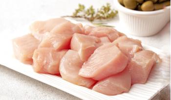 Premium Chicken Boneless Cubes (450g)