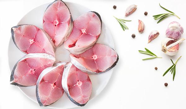 King Fish - Steak / Seer Fish / Aiykoora / Anjal / سمك كنعد